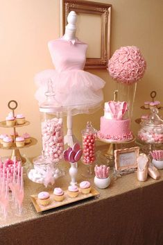 Anaya's 1st Birthday Ballet Party | CatchMyParty.com