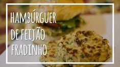 Hambúrguer de Feijão Fradinho (Vegano)