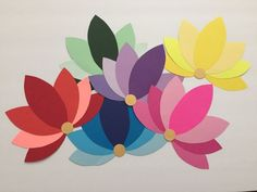 Lately, paper crafts have been my go-to party decorations – they are easy, quick and inexpensive too. I did couple of projects on paper flowers and I love how elegant and real they look, if d… Paper Flowers Craft, Paper Crafts Origami, Paper Crafts For Kids, Flower Crafts, Diy Flowers, Diy Paper, Paper Art, Origami Wall Art, Diwali Diy