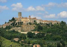 View of Montecatini Val di Cecina - Tuscany #volterratur