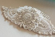 Bridal headpiece - Keela comb from MillieIcaro