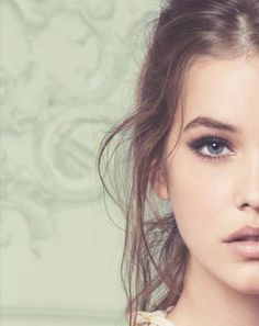 natural makeup and Barbara Palvin