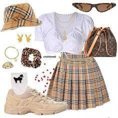 Best Teen Fashion Part 38 Clueless Outfits, Kpop Fashion Outfits, 2000s Fashion, Girly Outfits, Mode Outfits, Retro Outfits, Korean Outfits, Cute Fashion, Look Fashion