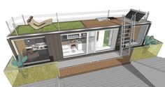 Container House - space container catalog 2 - Who Else Wants Simple Step-By-Step Plans To Design And Build A Container Home From Scratch? Building A Container Home, Storage Container Homes, Container Buildings, Container Architecture, Container House Design, Architecture Design, Prefab Modular Homes, Shipping Container House Plans, Small Modern Home