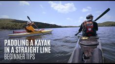 Paddling a kayak in a straight line - Beginner Kayaking Tips - Kayak Hip. Kayaking Near Me, Kayaking Tips, Canoeing, Fishing 101, Kayak Fishing, Fishing Boats, Used Kayaks, Recreational Kayak, Small Shark