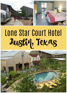 Lone Star Court Hotel a Top Hotel in Austin, Texas. Discover this family friendly retro chic hotel near the Domain. Best Hotels In Austin, Travel With Kids, Family Travel, Austin Texas, North Austin, Austin With Kids, Hotels For Kids, Tourist Spots, Top Hotels
