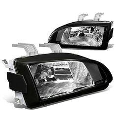 Honda Civic EG/EH/EJ Pair of OE Fitment Black Housing Headlights