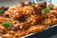LILLIANs MATBLOGG: ONE-POT BBQ KYLLINGPASTA