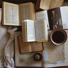 Imagem de book, coffee, and vintage