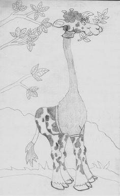 Drawn in pencil.