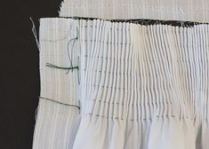 pleating and smocking tutorial