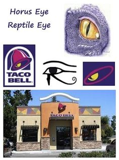 Noooo!  The Illuminati is real - and they've taken over Taco Bell, Nickelodeon and The Simpsons! 33 Signs The Illuminati Is Real courtesy of the people at buzzfeed.