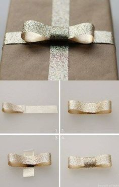 , Are you ready for the 40 best DIY gift wrapping ideas for Christmas? Here you are. , Tie bows as a gift. , Are you ready for the 40 best DIY gift wrapping ideas for Christmas? Here you are. , Tie bows as a gift. Gift Wrapping Bows, Gift Wraping, Present Wrapping, Creative Gift Wrapping, Christmas Gift Wrapping, Creative Gifts, Christmas Gifts, Wrapping Papers, Gift Bows