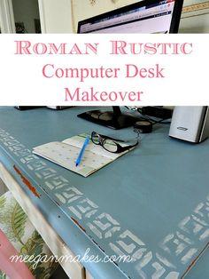 Roman Rustic Desk Ma