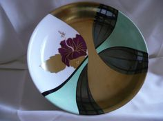 Hand painted bone china bowl in modern textured by variousstyles, £38.00