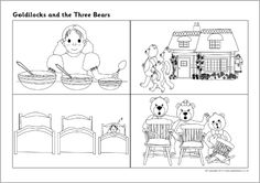 Goldilocks and the Three Bears sequencing sheets (SB7215) - SparkleBox