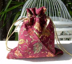 Cat N Cart Crafts Fabric Origami Bag
