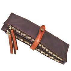 Leather Wallet Women's Handmade made in Levanda by iyiamihandbags