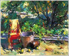 Paintings by Sergei Bongart