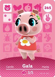 Animal Crossing Happy Home Designer Nintendo Series 1 Amiibo Card 019 Fauna Animal