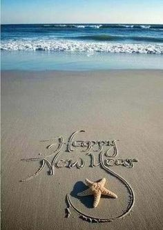 Have a beachy new year.