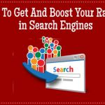 How to get and boost your ranking in search engines