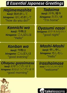 8 Essential Japanese Greetings