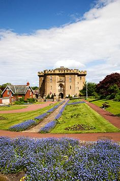 The Old Courthouse and Carlisle Park Morpeth Northumberland England, via Flickr.