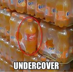 Go home, Coke, you're drunk!