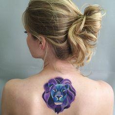#liontattoo #leotattoo #Mufasa #sashaunisex #watercolortattoo #vbiproteam ⚡️⚡️