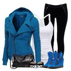 c9933df4ff Blue outfit - Facebook (fashion house) Blue Shoes