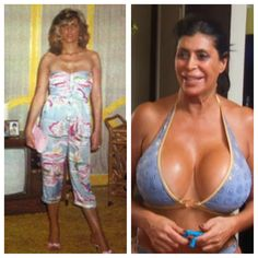 Big Ang before Big Breast Implants ~Mob Wives
