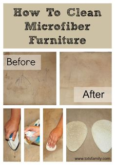 How To Clean Microfiber Furniture - Super Easy and Affordable - Thinking Outside The Sandbox Family