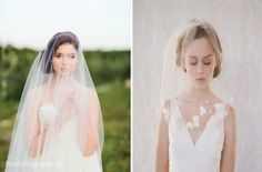 What is Your Veil Style? Blusher Veil