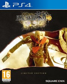 Final Fantasy HD - Limited Edition Steelbook (with Final Fantasy XV Demo) (PlayStation Blu-ray disc) Final Fantasy Type 0, Wii, Videogames, Playstation, Latest Video Games, Xbox One Games, Cute Sweatshirts, Military Discounts, Release Date