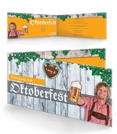 Online Bedruckte Einladungskarten Für Ihr Oktoberfest. #oktoberfest # Einladungskarten #einladungskarte
