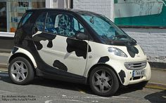 So Smart Car Tipping (not cow tipping) is A Thing Now -in the SF Bay Area especially