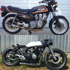Honda CB750 Cafe Racer Más