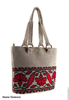 "New Cheap Bags. The location where building and construction meets style, beaded crochet is the act of using beads to decorate crocheted products. ""Crochet"" is derived fro Crochet Handbags, Crochet Purses, Tapestry Crochet Patterns, Tapestry Bag, Knitted Bags, Bead Crochet, Crochet Accessories, Handmade Bags, Handmade Bracelets"