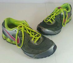 NIKE Reax Run 7 Women's Athletic Running Training Shoes Sneaker Sz 6.5 Gray #Nike #RunningCrossTraining