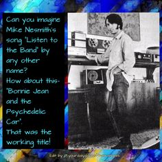 The Monkees Memes David Jones Mike Nesmith Peter Tork Micky Dolenz 1960's Clean Humor Funny Memes The Monkees Trivia The Monkees Facts The Monkees Listen To The Band