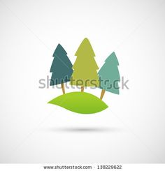 Rolling hill icon vector
