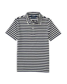Ralph Lauren Childrenswear Boys' Yarn Dyed Striped Jersey Polo Shirt - Sizes 2-7