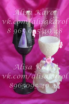 Wedding champagne flutes wedding glasses mr and mrs bride and groom on Etsy, $75.00