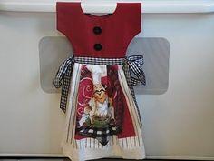 Pattern for Oven Door Towels - Bing images Sewing Art, Hand Sewing, Sewing Crafts, Sewing Hacks, Sewing Ideas, Dish Towel Crafts, Dish Towels, Tea Towels, Towel Dress