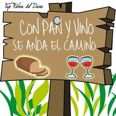 ¿Superstición en #Viernes13 tras una semana dura?  Recuerda este dicho: 'Con #pan y #vino se anda el camino'.