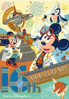 Tokyo Disney Sea 16th Anniversary