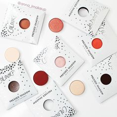 Colourpop Pressed Eyeshadows ❤