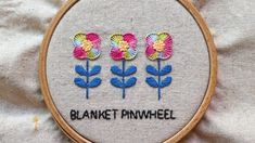blanket pinwheel stitch hand embroidery Pinwheels, Hand Embroidery, Stitch, Blanket, Design, Full Stop, Blankets, Cover