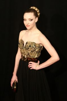 I would cast Amanda Seyfried as Arria in the Mark of the Lion Series by Francine Rivers.